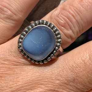 Cloudy Blue Sky Ring