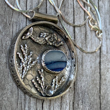 Load image into Gallery viewer, Floating Mermaid Pendant