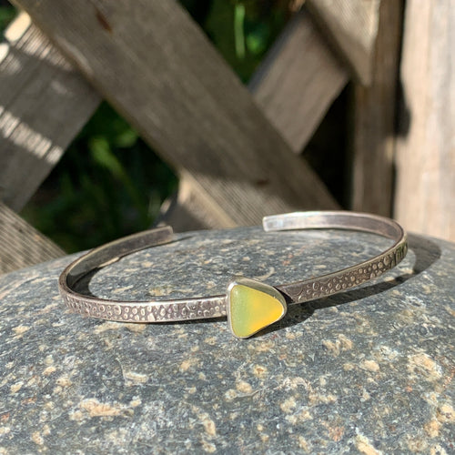 Yellow Triangle Mini Cuff