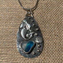 Load image into Gallery viewer, Swimming Mermaid Pendant