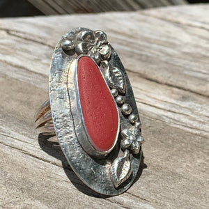 Red Lei Ring
