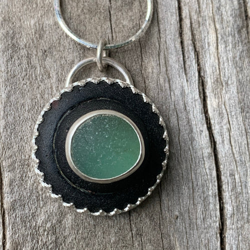 Glass Insulator Pendant
