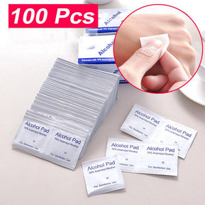 Alcohol Wet Disposable Skin Wipes
