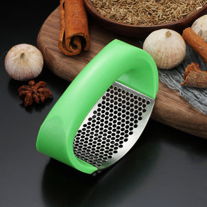 Stainless Steel Garlic Crusher