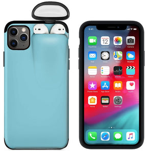 2 in 1 Airpod Phone Cases