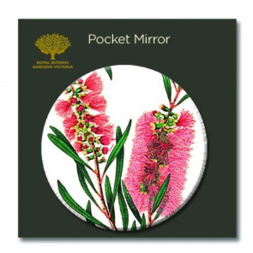 Pocket Mirror Bottlebrush