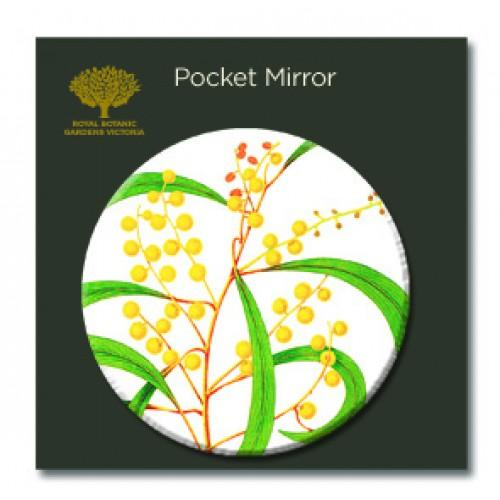 Pocket Mirror Golden Wattle