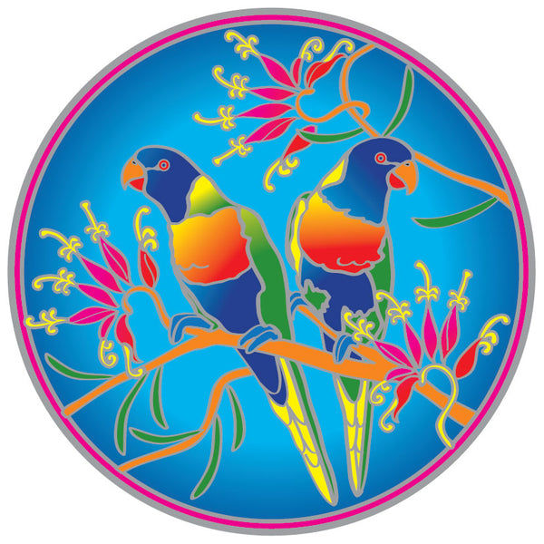 Sunseal Rainbow Lorikeets