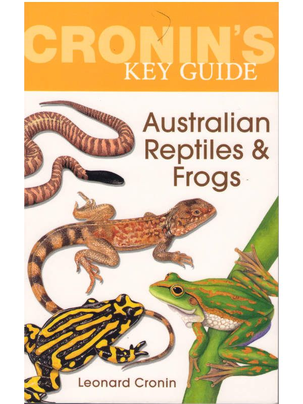 Cronins Key Gde Aust Reptiles and Frogs