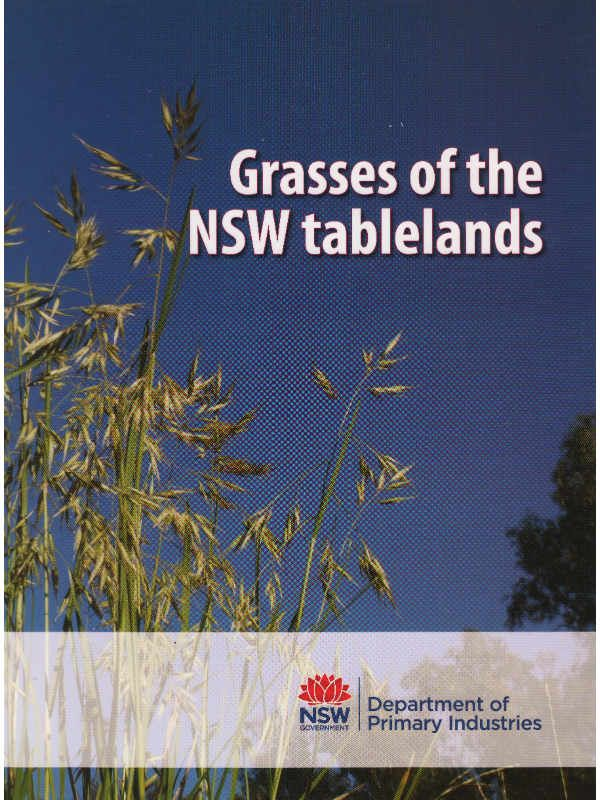 Grasses of NSW Tablelands