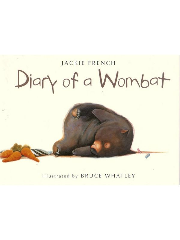 Diary of a Wombat Hardcover