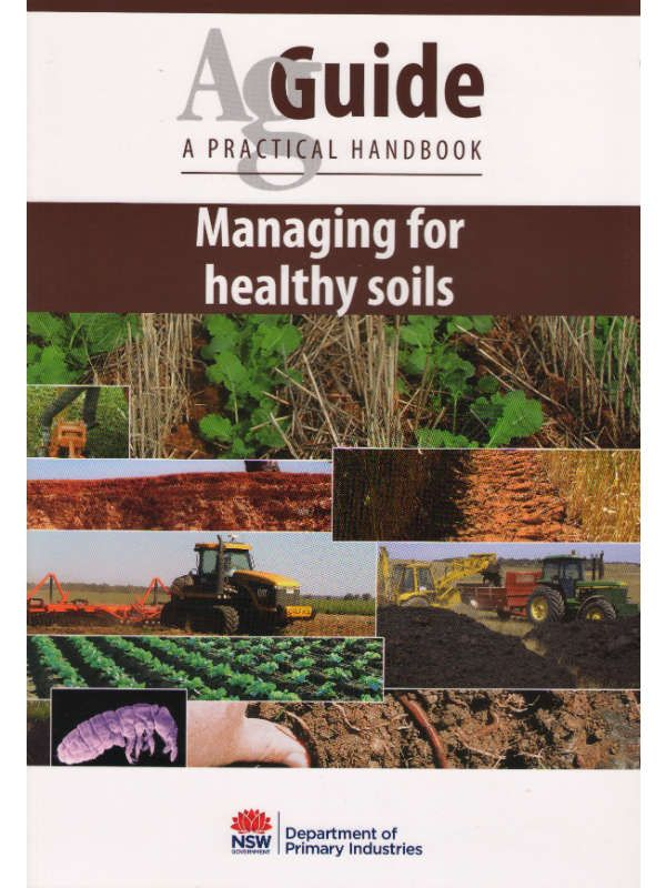 Managing for Healthy Soils AgGuide