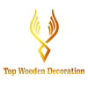 Logo Top wooden decoration