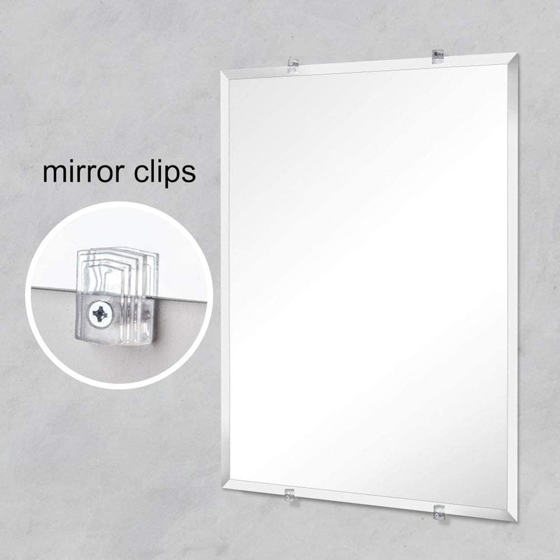 Frameless Wall Mirrors- Rectangle