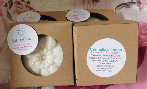 Lavender Bar - Carmella's Lotion