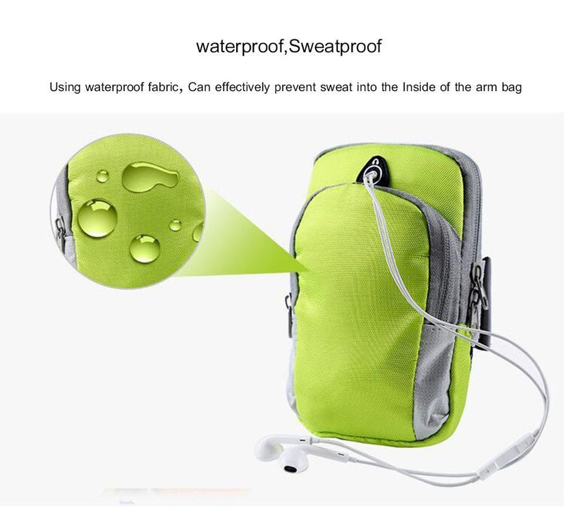 Sports Running Waterproof Phone Armband Bag Case