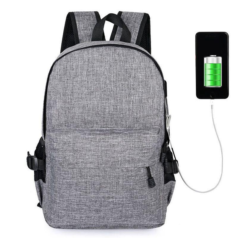 15 inches Laptop Anti-theft Backpack USB Charger