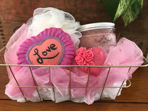 Be Mine Gift Basket