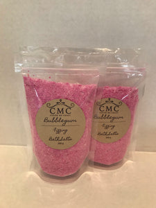 Bubblegum Fizzing Bath Salts