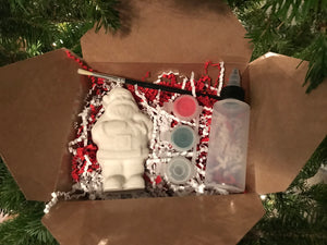 PIY - Paint It Yourself Santa Bath Bomb Kit