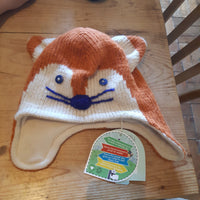 Piccalilly Fox Hat 18-24 months