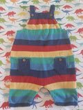 Pre - Loved Kite Rainbow Dungarees