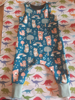 Pippi Kids Baby Dungarees