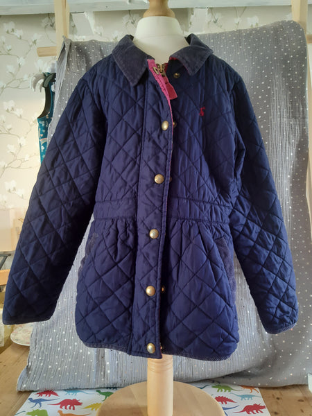 Pre - Loved Joules Padded Coat Size 8y/ 128cm