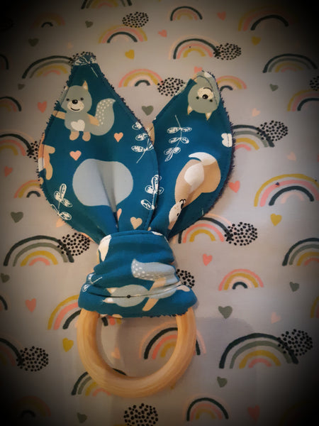 Pippi Kids Teether Bunny - can be personalised