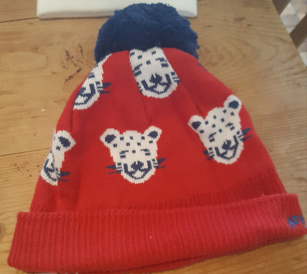 Kite Leopard Bobble Hat size 1-3 yr