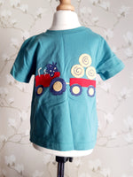 Kite tractor T Shirt Size 2 years