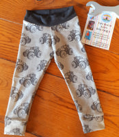 Pippi Kids Tractor Cuff Leggings
