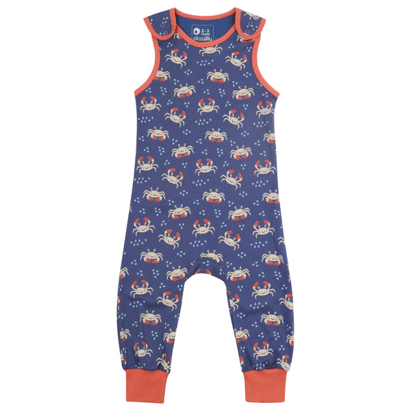 Piccalilly Ocean Crab Dungarees