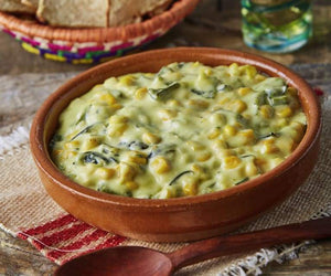Bowl of Green Roots Meals Cheese Poblano Dip
