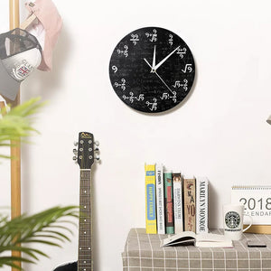 Mystery of Number Nine Math Wall Clock