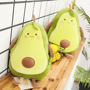 Cute Avocado Fruit Plush Pillow Cushion Doll