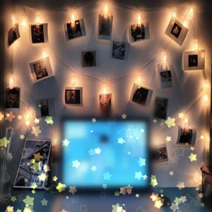 LED Lights Photo Display Clip Holder 1.5M 10 LEDs String