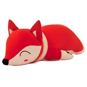 Cute Sleeping Fox Lying Plush Stuffed Pillow Doll