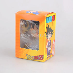 Dragon Ball Z Goku and Kuririn Figure Car Decoration Phone Holder