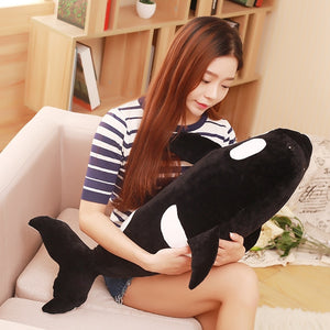 Cute Killer Whale Shark Soft Plush Stuffed Doll