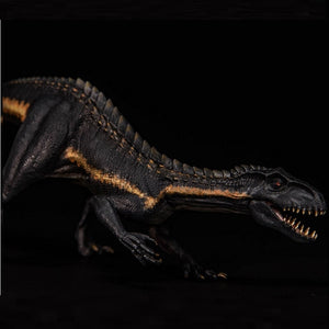 Berserker Raptor Dinosaur Indoraptor With Small Human 1:35 Models Figure Toy