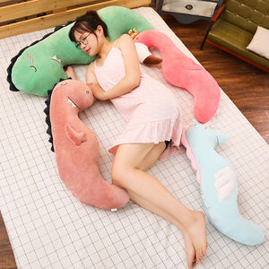 Giant Unicorn Flamingo Dinosaur Shape Plush Stuffed Pillows Doll Gift