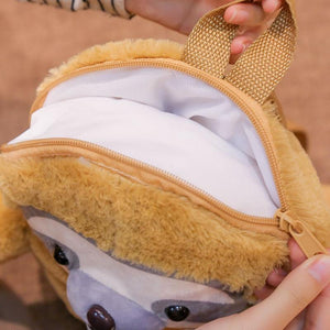 Cute Baby Sloth 32 cm Plush Children Backpack School Bag