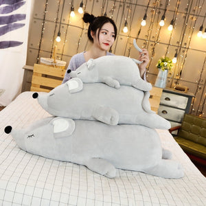 Giant Sleeping Mouse Super Soft Plush Stuffed Doll Toy