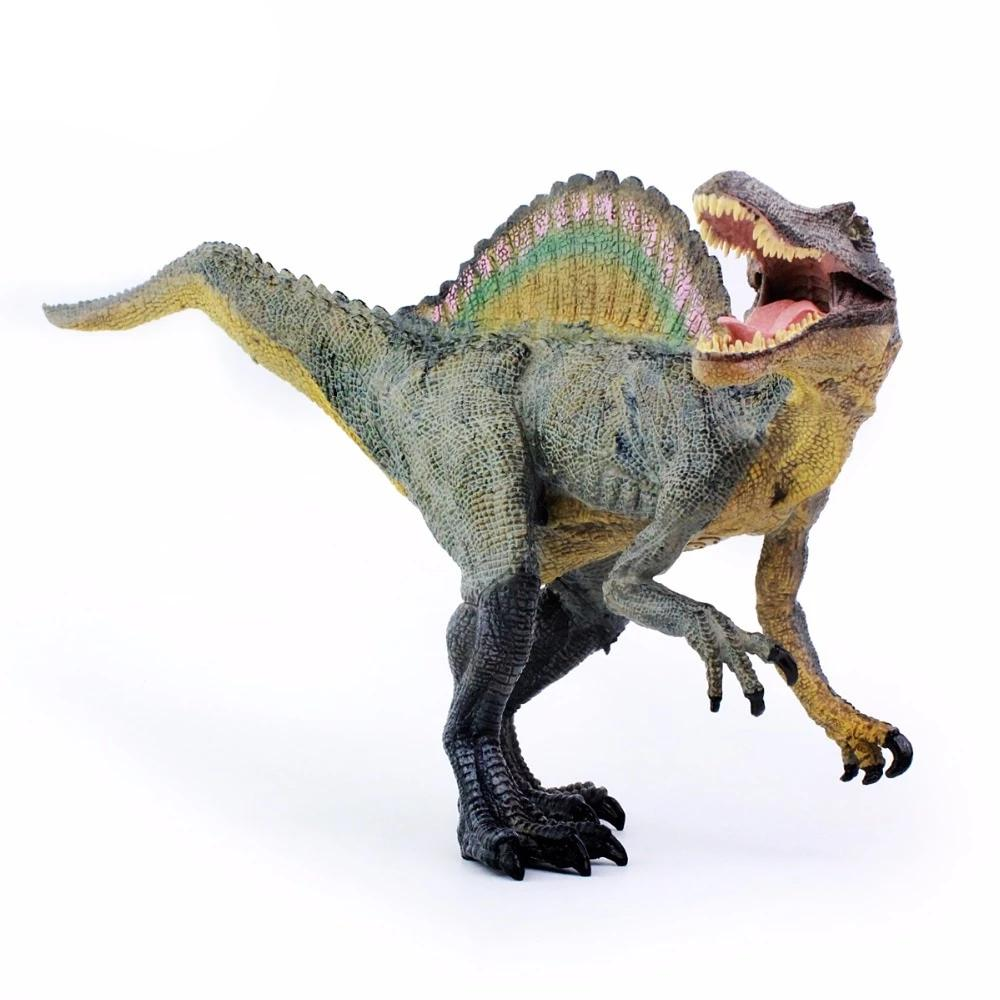 Spinosaurus Dinosaur Movable Lower Jaw Action Figure Model