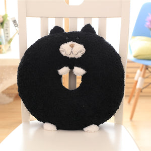 Cute Japan Tiimo Black Cat Plush Toy Stuffed Doll Pillow