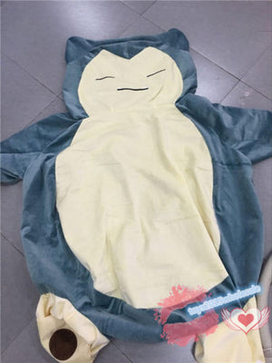 "Giant Snorlax 59"" Pillow Case ONLY COVER WITH ZIPPER"