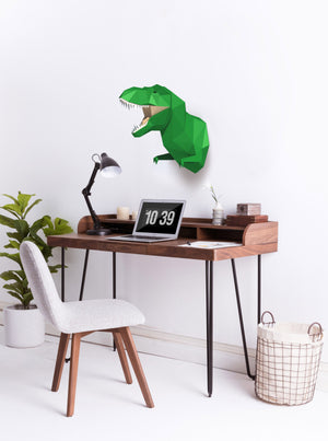 3D Dinosaur Pre-Cut DIY Paper Craft Model Home Decor Gift
