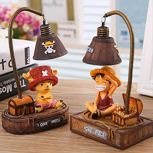 Cartoon One Piece Small Night Light Lamp