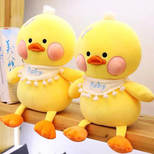 Cute Baby Yellow Duck Soft Plush Stuffed Doll Gift